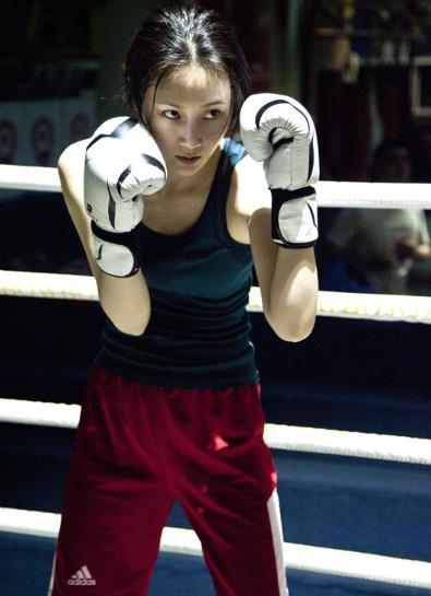 林鹏跨界女子搏击手 直面女拳王惨烈人生