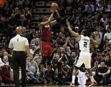 马刺vs热火录像 NBA直播视频总决赛第一场 6.6图片