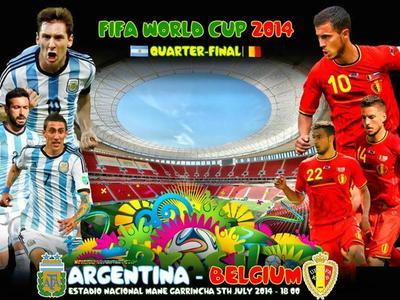 阿根廷vs比利时直播 世界杯1/4决赛(7.6)_拳击