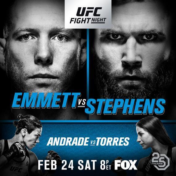 UFC on FOX 28完整视频