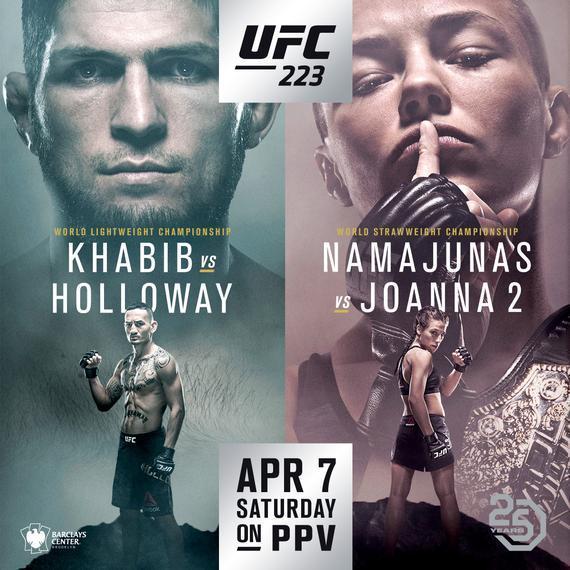 UFC223完整视频-对阵表-比赛时间