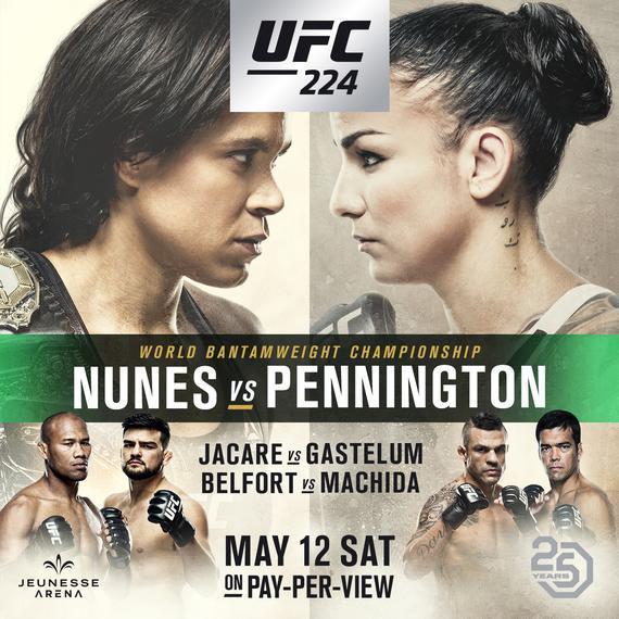 UFC224完整视频