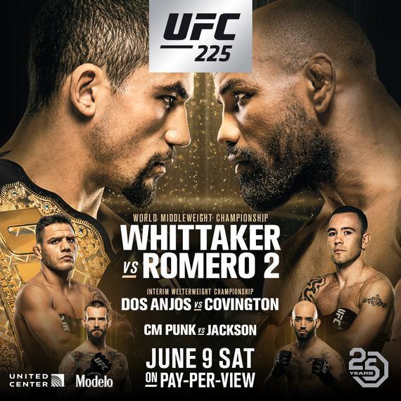 UFC225完整视频-比赛时间-对阵表