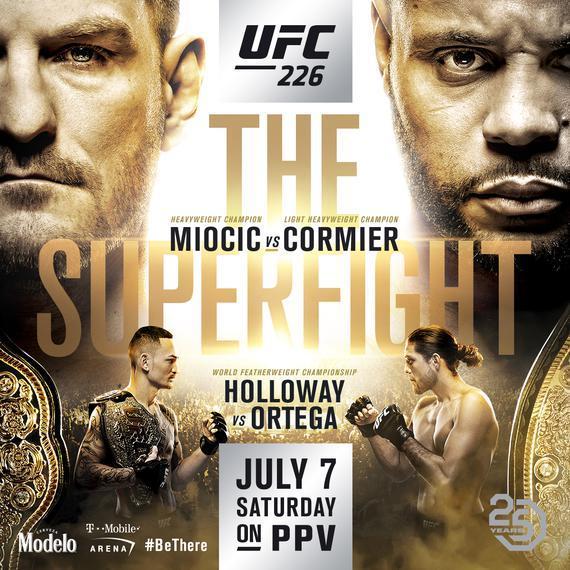 UFC226完整视频-比赛时间-对阵表