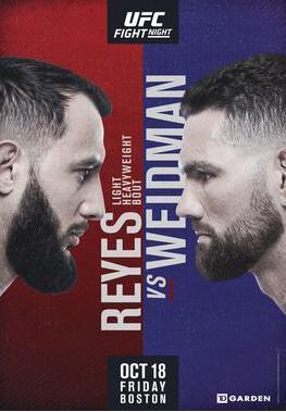 UFC on ESPN 6视频
