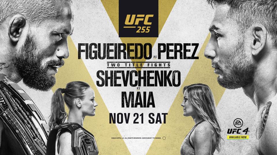 UFC255前瞻:男女双重蝇量级冠军战同晚上演