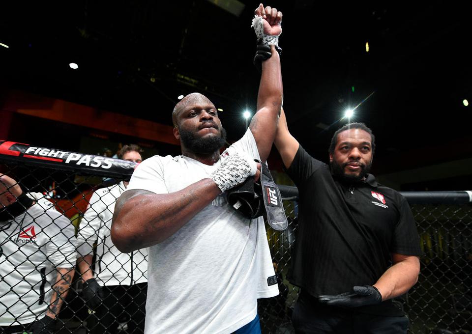 UFC格斗之夜:布来兹 VS 刘易斯赛事综述