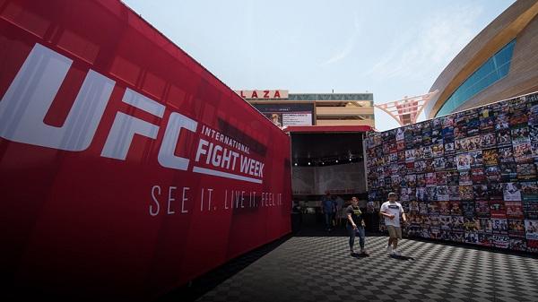 UFC宣布第9界国际格斗周将于9月21-25日在维加斯举行